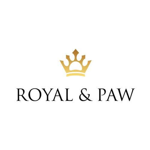 Bear claw logo with the title 'Exclusive logo design for a Pet Product Brand'