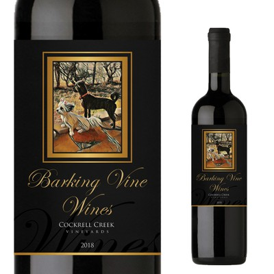 Barking Vines Wine Labels