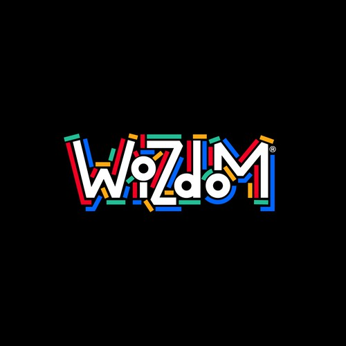 Production company logo with the title 'Wizdom logo'