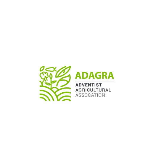 Association logo with the title 'Logo for ADAGRA'