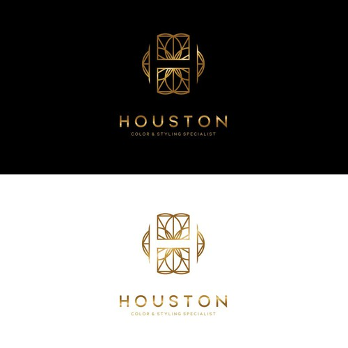 Stylist logo with the title 'Logo for Houston'