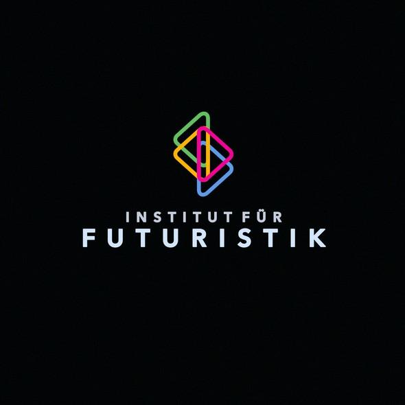 LAN logo with the title 'The «Institut für Futuristik» logo'