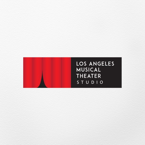 Opera logo with the title 'Los Angeles Musical Theater Studio'