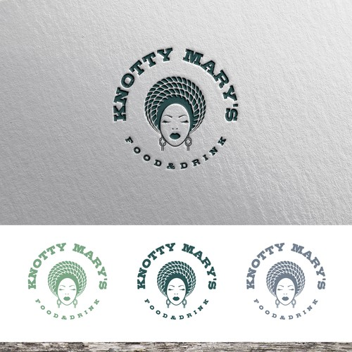 Knot design with the title 'Logo concept for lake restaurant '