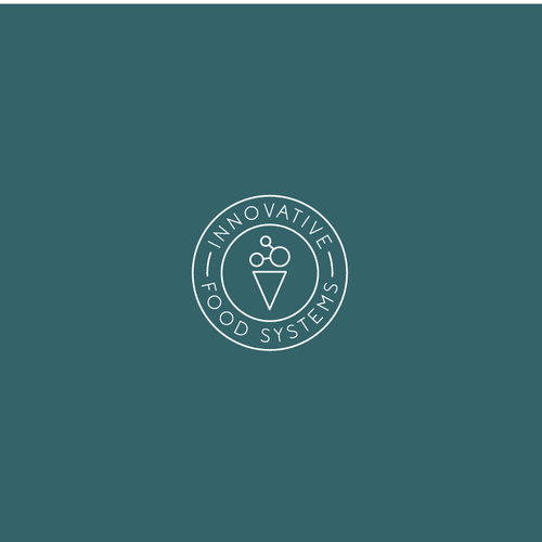 B2B design with the title 'Simple and Modern logo for Innovative Food Systems '