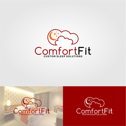 Comfort logo with the title 'ComfortFit'
