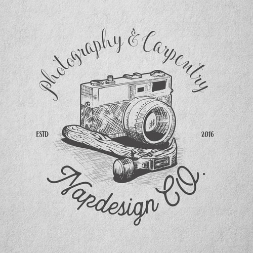 Carpentry logo with the title 'Concept'