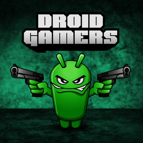Android logo with the title 'Logo wanted for DroidGamers'