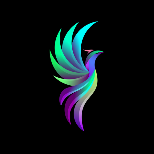 Consulting brand with the title 'Ideal Fibonacci Bird'