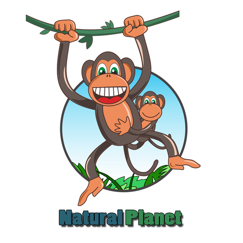 Rainforest design with the title 'Natural Planet '