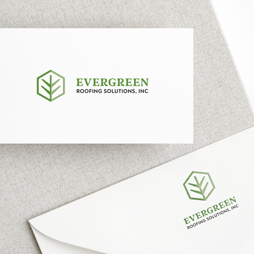 Builder logo with the title 'evergreen_roofing'