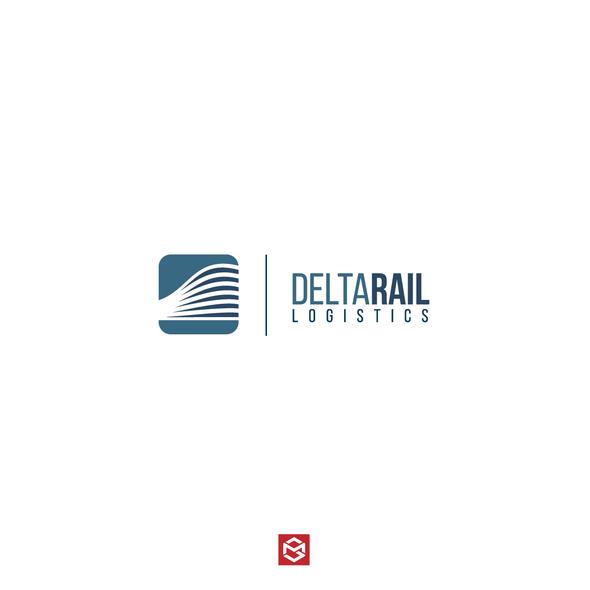 Logistics logo with the title 'Logo for railway logistics company (3PL logistics)'