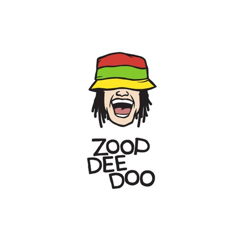 Jamaican logo with the title 'Zoopdeedoo'