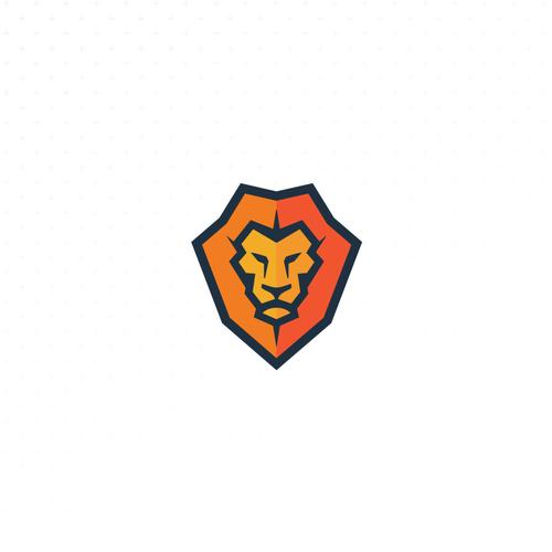 Martial arts design with the title 'Jiu-jitsu Lion'
