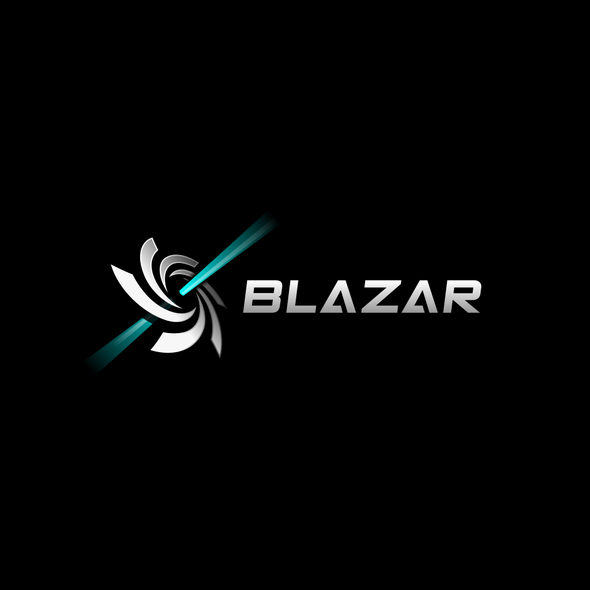 Powerful brand with the title 'Space/tech logo for a gaming accessory company'