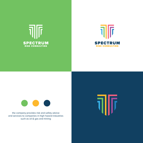 Shield design with the title 'Spectrum Shield'