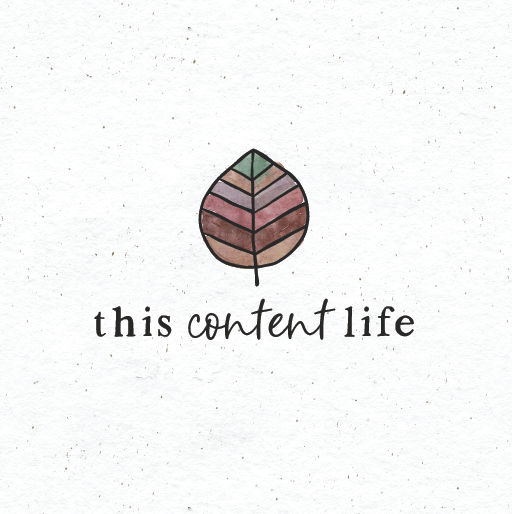 Fall logo with the title 'This content life'