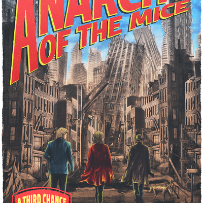 throwback book cover for action-adventure novel