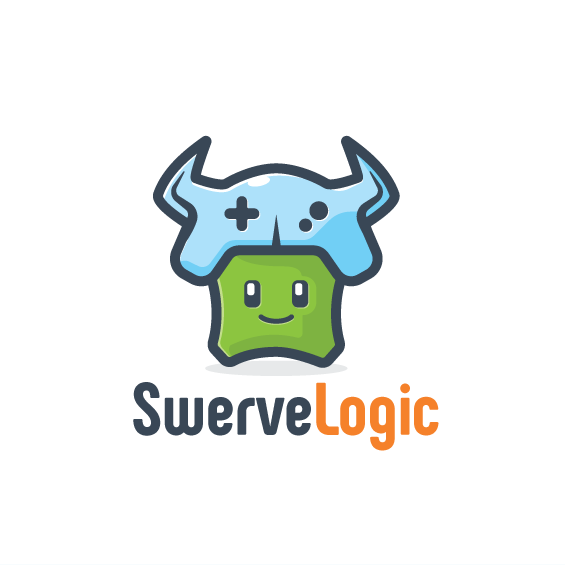 Logic logo with the title 'Fun Gaming Character'