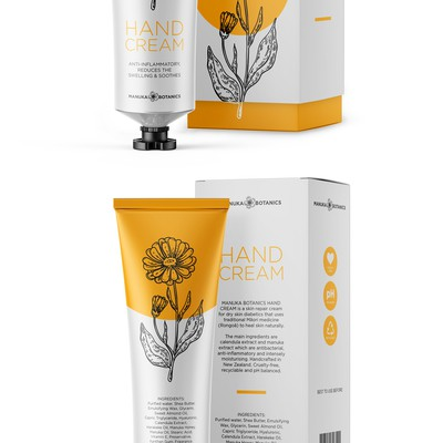 Hand-cream packaging design