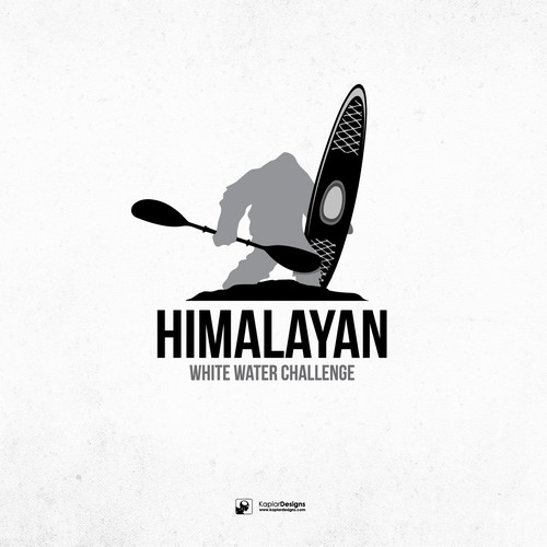 Kayak design with the title 'Himalayan Yeti'