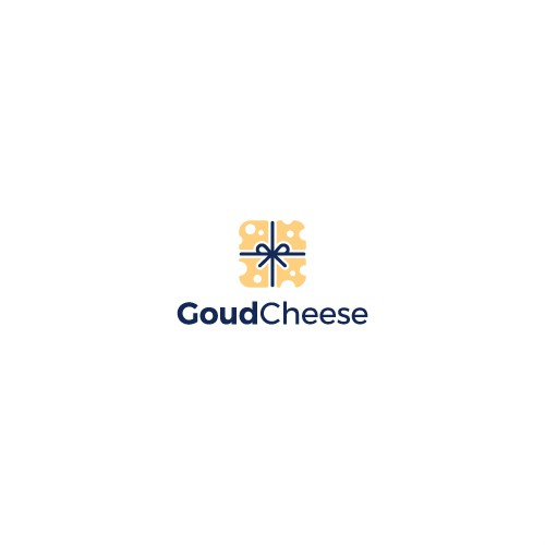 Parcel logo with the title 'Design a Goud logo for Goud Cheese'