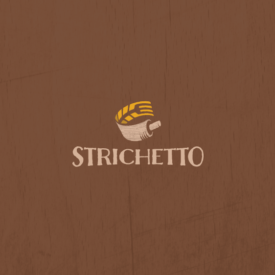 Food brand with the title 'Smart and simple logo design'