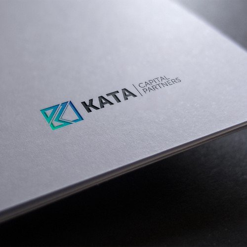 Accounting logo with the title 'Logo design for KATA'