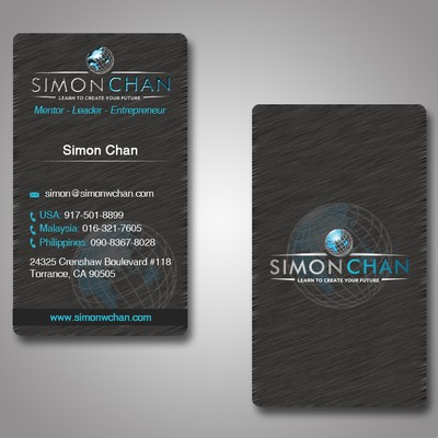 Simon Chan Business Card