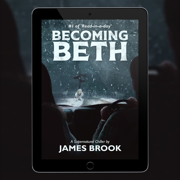 Supernatural design with the title 'Becoming Beth'