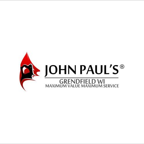 Cardinal design with the title 'JOHN PAUL'S'