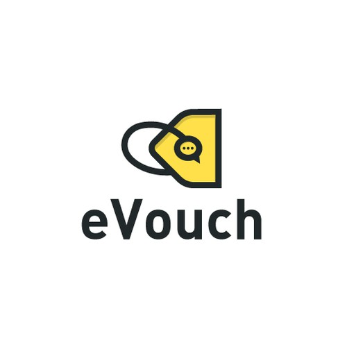 Deal logo with the title 'eVouch'