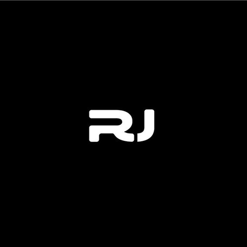 Private design with the title 'logo initials R and U'