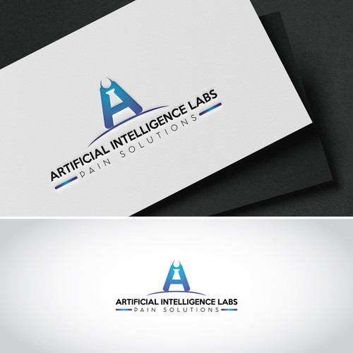 Lab testing logo with the title 'Logo Concept for Lab'