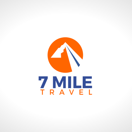 Bag brand with the title '7 mile logo'
