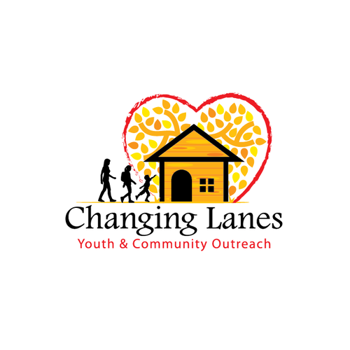 Hope design with the title 'Changing Lanes Youth & Community Outreach'