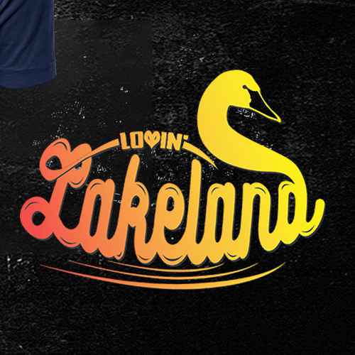 Bird t-shirt with the title 'LakeLAND'