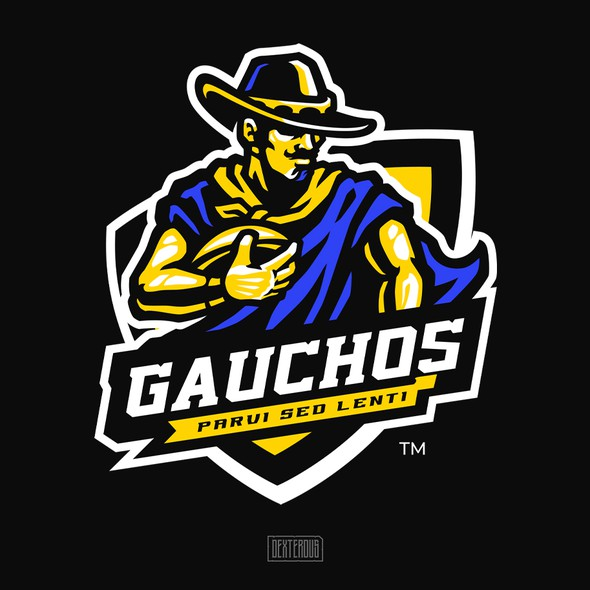 Cowboy logo with the title 'Gauchos'
