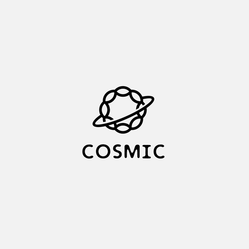 Cosmic design with the title 'Concept for Cosmic Cafe'