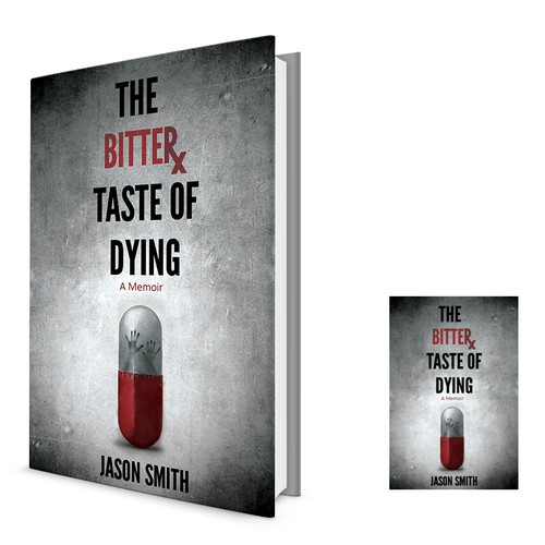 Nonfiction book cover with the title 'The Bitter Taste of Dying'