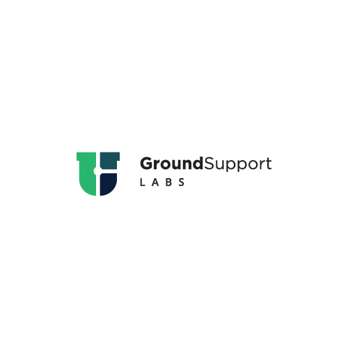 Engagement logo with the title 'Ground Support Labs - Logo Concept'