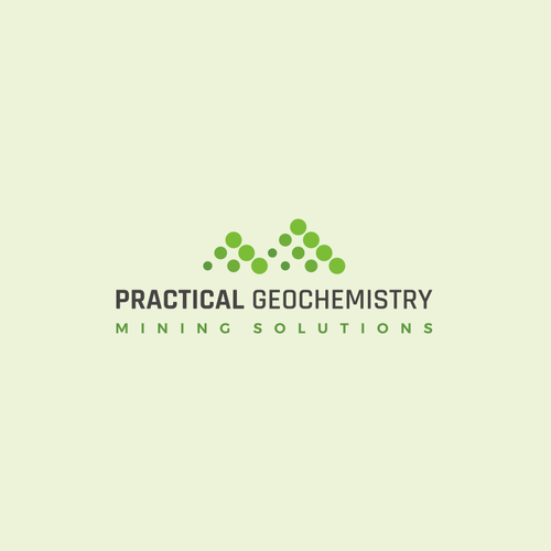 Bubble design with the title 'Eye catching logo for environmental consulting company: Practical Geochemistry'