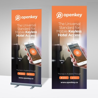 Tradeshow Banners for OpenKey