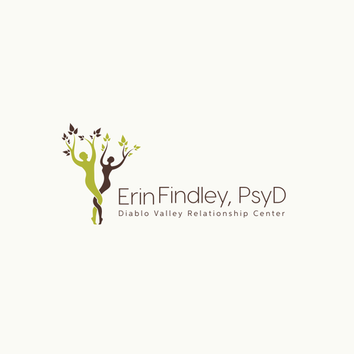 Relationship design with the title 'Logo for a psychotherapy clinic.'