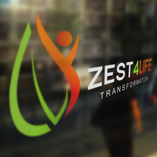 Transformation logo with the title 'ZEST4LIFE'