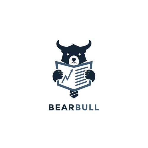 Bull design with the title 'BearBull'
