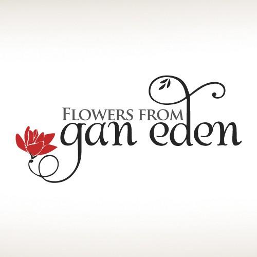 Cursive logo with the title 'Florist Logo'