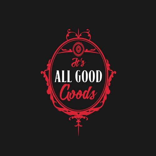 American Indian design with the title 'It's All Good Goods'