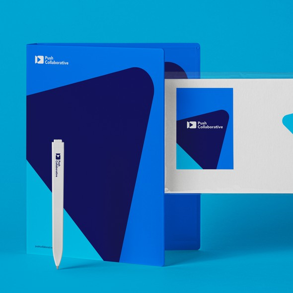 Card brand with the title 'Branding Stationery'