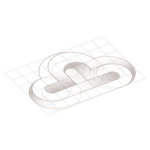 Cloud brand with the title 'Illusion logo concept'